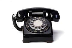 roterande telefon Arkivbilder