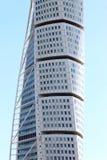 Roterande torso för skyskrapa, Malmö, Sverige Arkivfoto