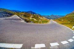 Roterande väg Fotografering för Bildbyråer
