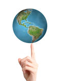 roterande värld Royaltyfri Fotografi