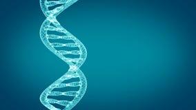 Roterende DNA-bundel royalty-vrije illustratie