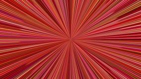 Roterende hypnotic uitbarstingsstrepen - de naadloze lijn van het snelheidsconcept royalty-vrije illustratie