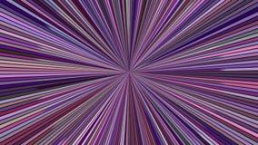 Roterende hypnotic uitbarstingsstrepen - het naadloze grafische ontwerp van de lijnmotie stock footage