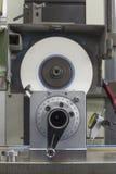 Roterende stempel vroeger op Malende machine Royalty-vrije Stock Foto's