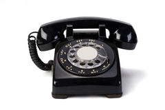 Roterende Telefoon   Stock Afbeeldingen