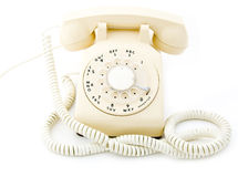 Roterende Telefoon Royalty-vrije Stock Afbeelding