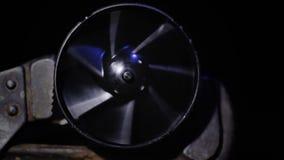 Roterende ventilatieventilator stock videobeelden