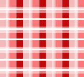 Rotes überprüftes Muster Lizenzfreies Stockfoto