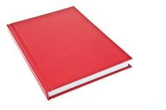 Rotes Abdeckungbuch stockfotos