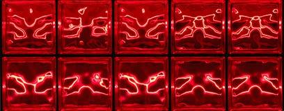 Rotes abstraktes horizontales Lizenzfreie Stockfotografie