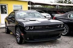 Rotes amerikanisches Muskel-Auto Lizenzfreies Stockfoto
