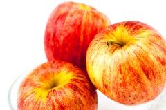 Rotes Apple in der Schüssel Lizenzfreies Stockfoto