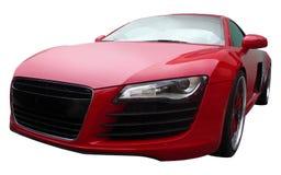 Rotes Audi R8 Stockfotografie