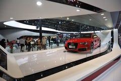 Rotes audi RS 5 Lizenzfreies Stockbild
