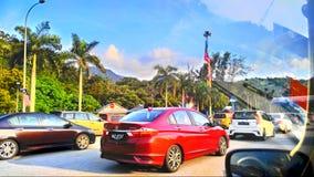Rotes Auto Stockfotos