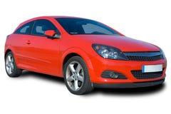 Rotes Auto Stockfoto