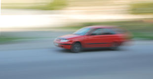 Rotes Auto Lizenzfreies Stockfoto