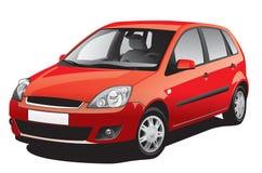 Rotes Auto lizenzfreie abbildung