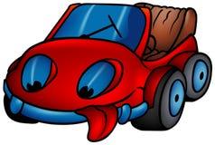 Rotes Auto Lizenzfreie Stockfotos