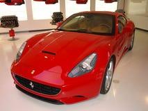 Rotes Auto Ferrari Stockfotografie