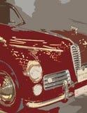 Rotes Automobil lizenzfreie stockbilder
