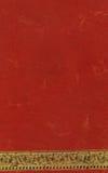 Rotes Büttenpapier stockbild