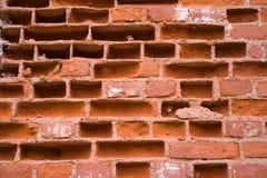 Rotes Backsteinmauerdetail lizenzfreie stockfotografie