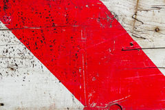 Rotes Band Stockbild