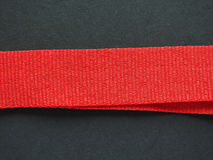 Rotes Bandband Lizenzfreie Stockfotografie