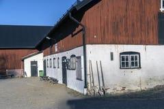 Rotes Bauernhaus Lizenzfreies Stockfoto