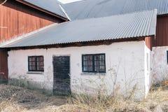 Rotes Bauernhaus Lizenzfreie Stockbilder