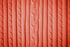 Rotes Baumwollmuster stockbilder