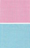 Rotes blaues checkered lizenzfreie stockfotografie