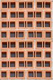 Rotes Blockmuster Stockfotografie
