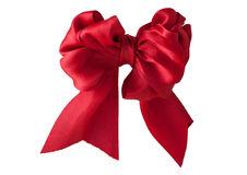 Rotes Bogen-Farbband Stockfotografie