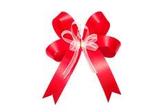 Rotes Bogenband Stockfotos