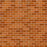 Rotes brickwall Lizenzfreie Stockfotos