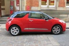 Rotes Citroen DS3 Stockfoto