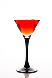 Rotes Cocktail lizenzfreies stockfoto