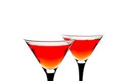 Rotes Cocktail lizenzfreie stockfotografie