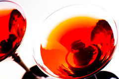 Rotes Cocktail stockfoto