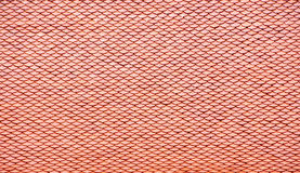 Rotes Dach Stockfotografie