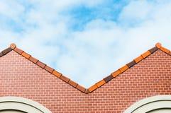 Rotes Dach lizenzfreies stockfoto