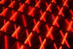 Rotes Dance Floor Lizenzfreie Stockfotos