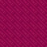 Rotes diagonales Muster lizenzfreie abbildung