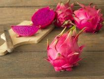 Rotes Dragon Fruit stockfoto