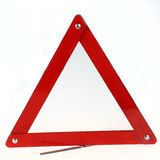 Rotes Dreieckzeichen Lizenzfreies Stockbild