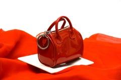 Rotes elegantes Stockfotos
