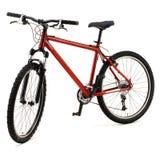 Rotes Fahrrad Stockbilder