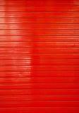 Rotes Fallgatter Stockfotografie